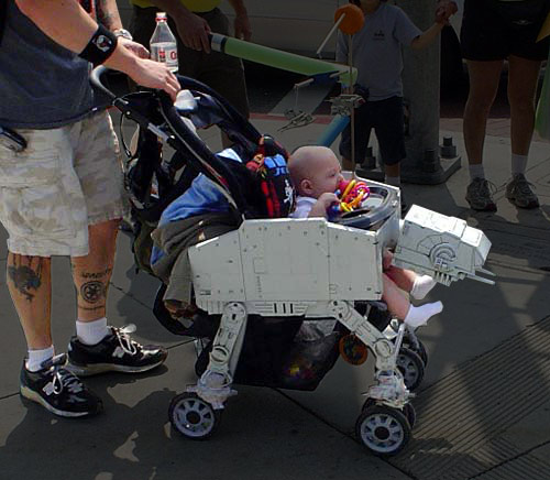 transformer stroller