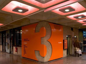 new wayfinding techniques at barbican arts centre