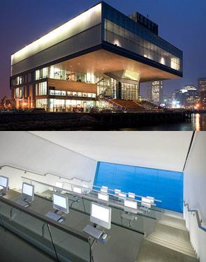 the new Boston Institute of Contemporary Arts building