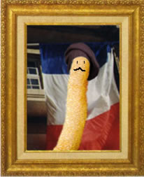 french fry art