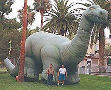 inflatable dinosaurs