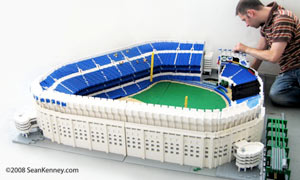 Yankee Stadium in LEGO