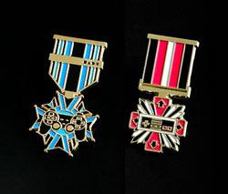 console war badges