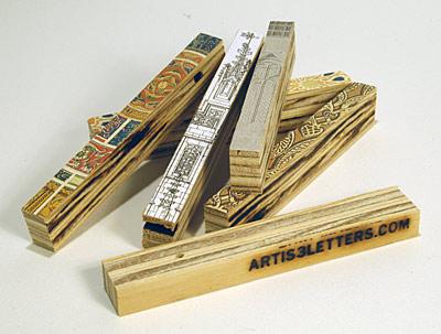 plywood art strips invade iwu