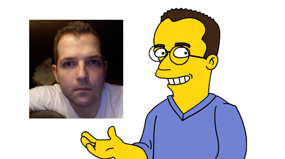 your very own custom Simpsons character