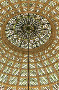 world's largest Tiffany dome