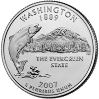 washington state quarter design