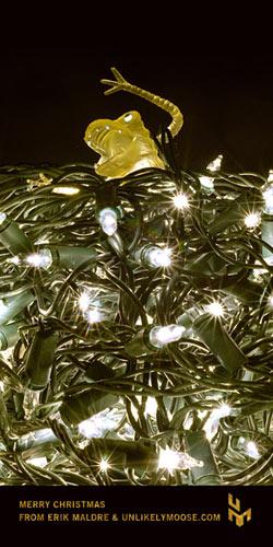 The Christmas Lights Monster