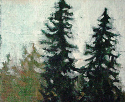 enjoy these nicely painted trees