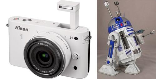 Nikon 1 R2-D2 mod