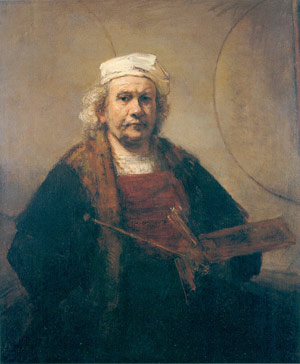 Rembrandt's self-portraits