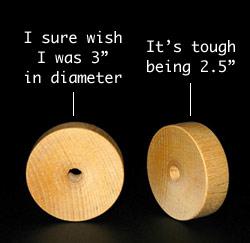 """3"""" wood discs"""